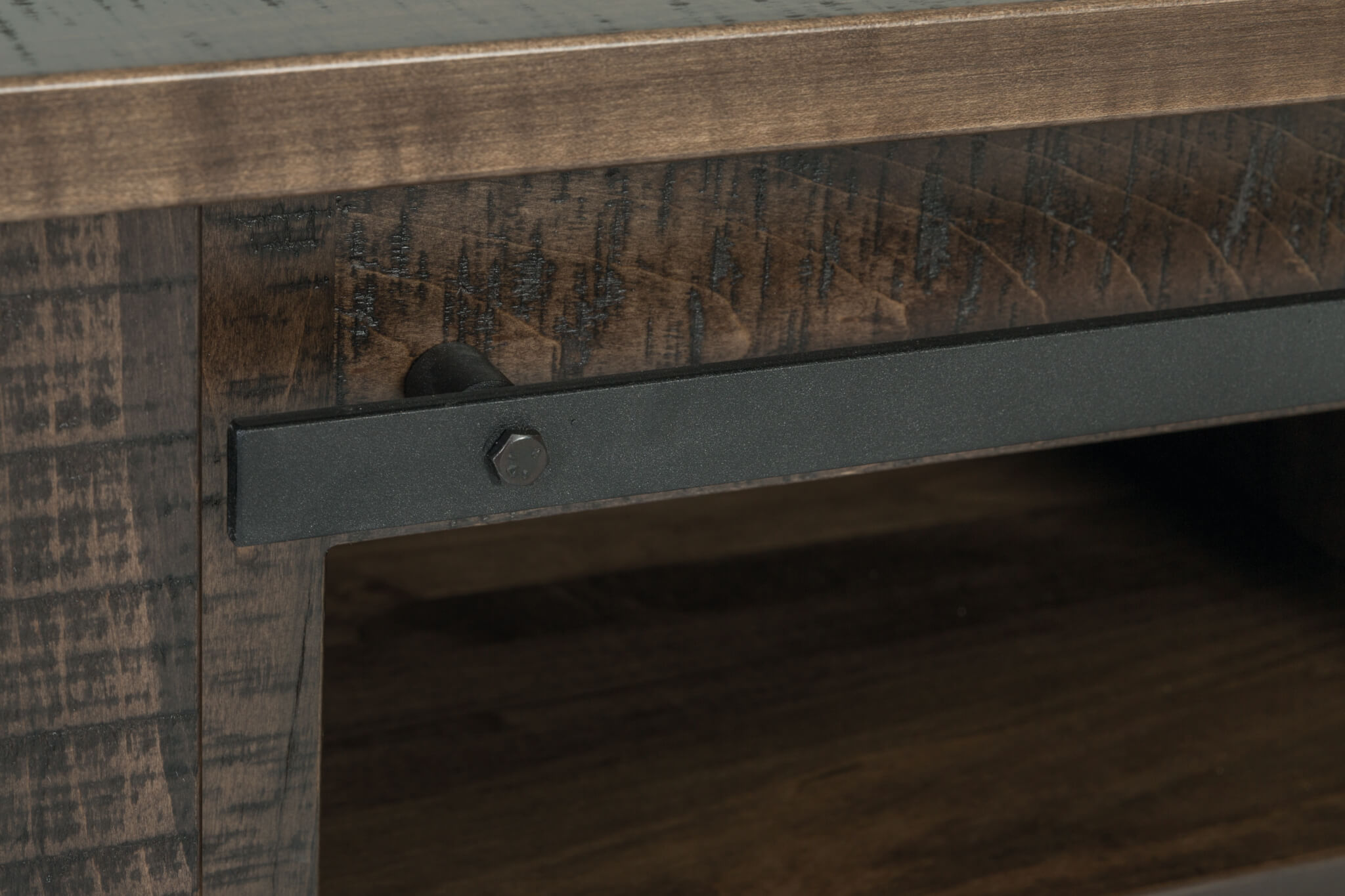 tv stand rail detail